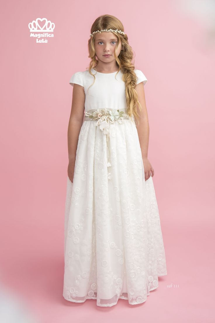 38 best Magnifica Lulu images on Pinterest | Communion dresses, Kids ...