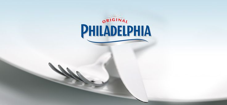 Philadelphia Tagliatelle alla crema di basilico con mandorle