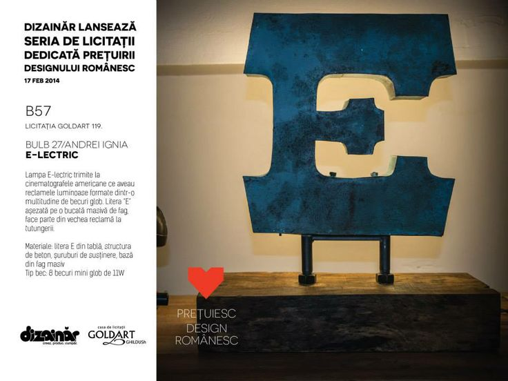 Romanian Design Auction, Feb 17th at Intercontinental