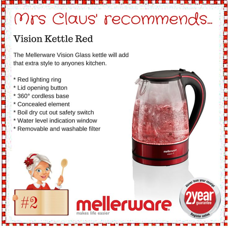 Day 2 - Vision Kettle Red