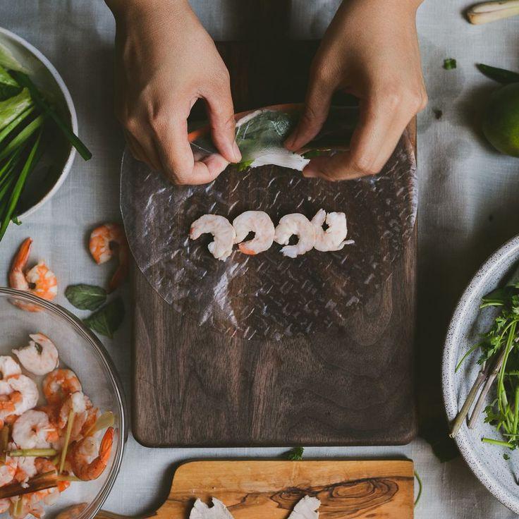 Vietnamese Pork and Shrimp Spring Rolls (Gỏi Cuốn) recipe on Food52