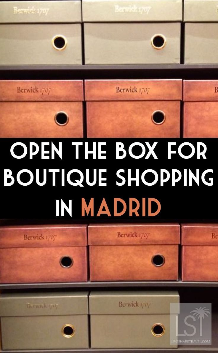 From the boutiques of Barrio Salamanca to the designer shops of Calle Serrano - shopping in Madrid, Spain, worth travelling to the city for. #citybreaks #Madrid