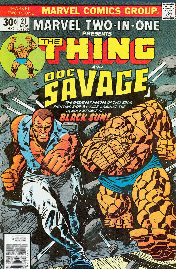 Marvel Two-In-One (1974) Issue #21 - Read Marvel Two-In-One (1974) Issue #21 comic online in high quality