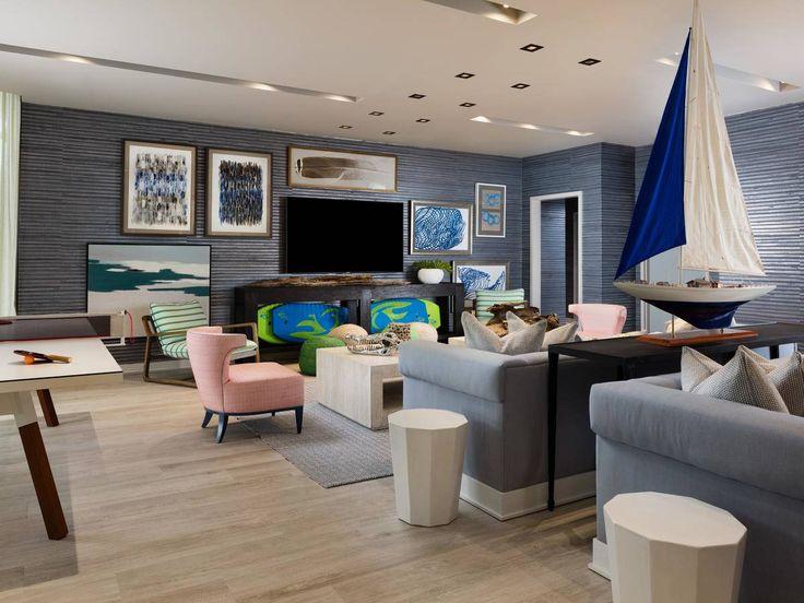 Thom Filicia Miami Blue Playroom
