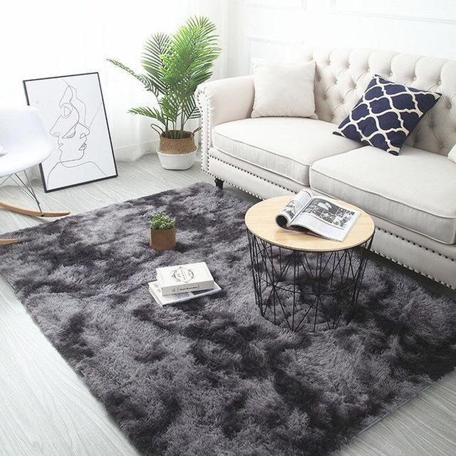 Black Living Room Carpet 80x160cm In 2021 Living Room Carpet Rugs On Carpet Soft Carpet