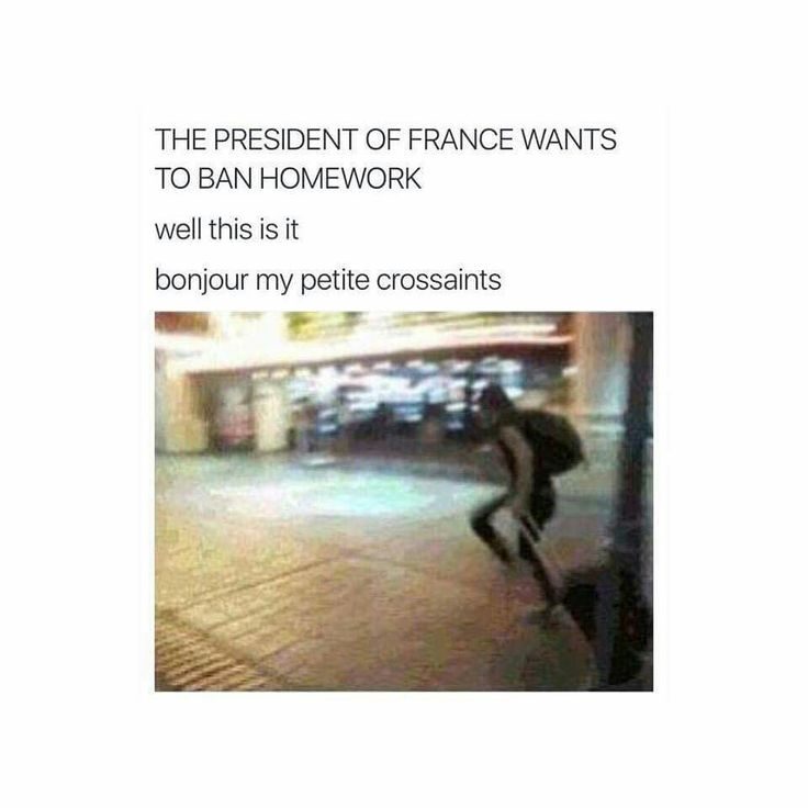 """Even if this isn't true, I still can't get over """"bonjour my petite crossaints"""""""