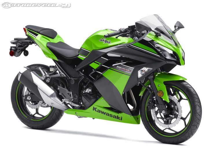 2013 Kawasaki Ninja 300 First Look - Motorcycle USA