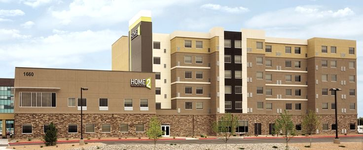 Home2 Suites by Hilton Albuquerque/Downtown-University Hotel, NM - Hotel Exterior   NM 87102