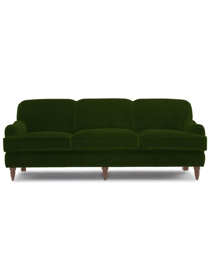 Britta Velvet Sofa, Jade