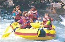 Nantahala River Rafting - 20 mins from Bryson City, NC.  Must be 7 years old or 60 lbs. Most popular rafting trip in NC. Over 20 rapids to enjoy.
