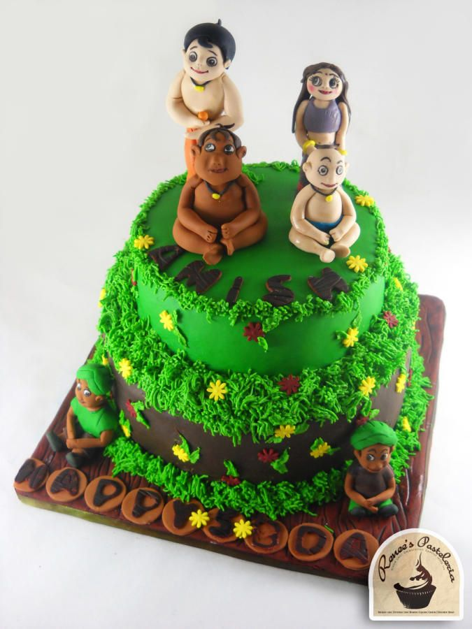 Chota Bheem Images For Birthday Cake : CHOTA BHEEM CAKE - Cake by RENEE S PASTELERIA CAKES BY ...