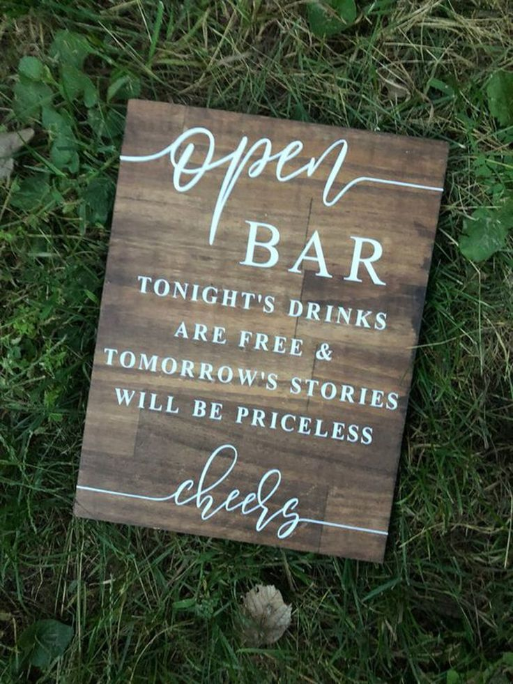 19 Unique Wedding Signs for Every Style and Budget – Katie Pietrzak