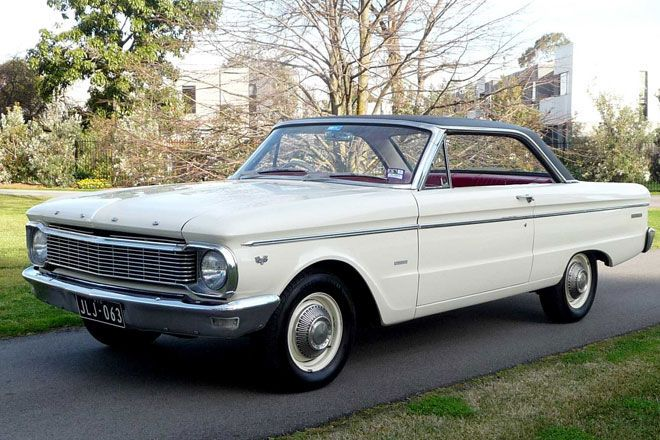 1966 Ford Falcon XP Deluxe Coupe