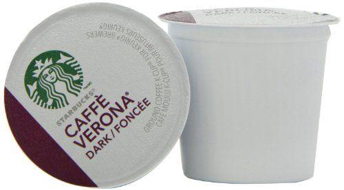 Starbucks Caffe Verona Dark, K-Cup Portion Pack for Keurig K-Cup Brewers, 24 K-Cups (Pack of 2) - http://thecoffeepod.biz/starbucks-caffe-verona-dark-k-cup-portion-pack-for-keurig-k-cup-brewers-24-k-cups-pack-of-2/