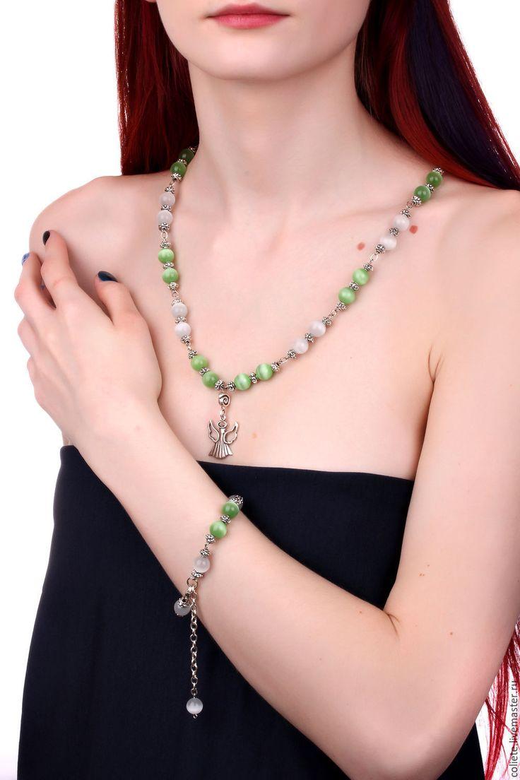 """Купить Ожерелье из натуральных камней """"Усилитель талантов и обаяния!"""" - украшения ручной работы, украшения из камней"""