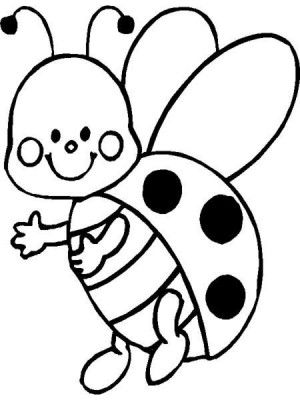 19 best Ladybugs coloring book images on Pinterest | Coloring ...