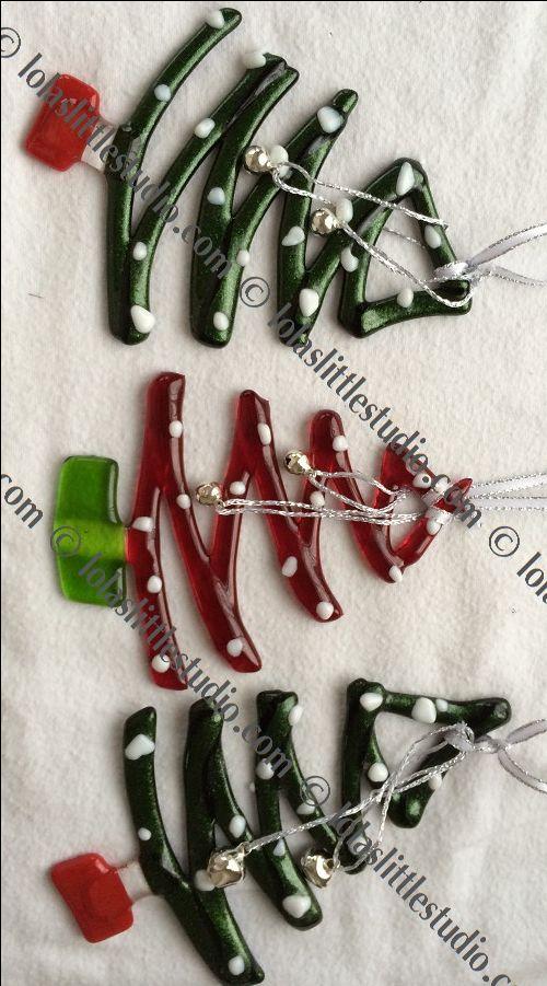 Lola's Little Glass Studio - Christmas is coming !!