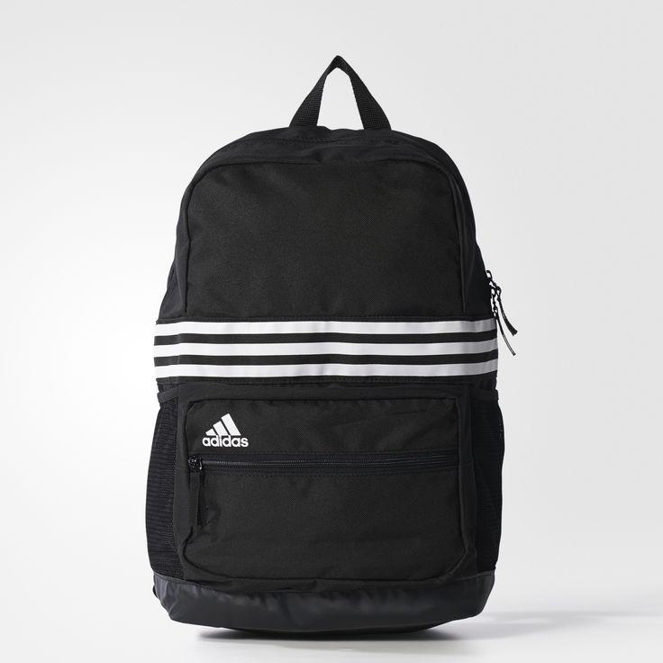 adidas 3-Stripes Sports Backpack Medium - Black   adidas UK