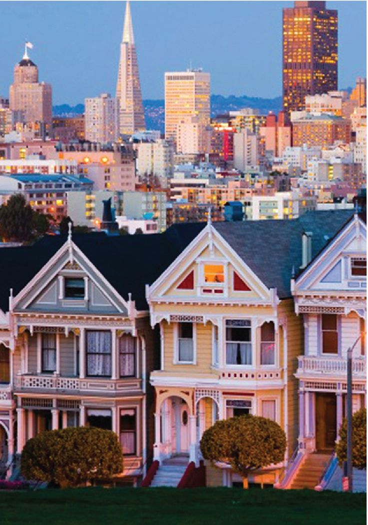Stood on the steps of this house...San Francisco, California