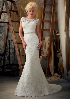 Perfect dress - love it! Morilee Style 1901 Venice Lace Appliques
