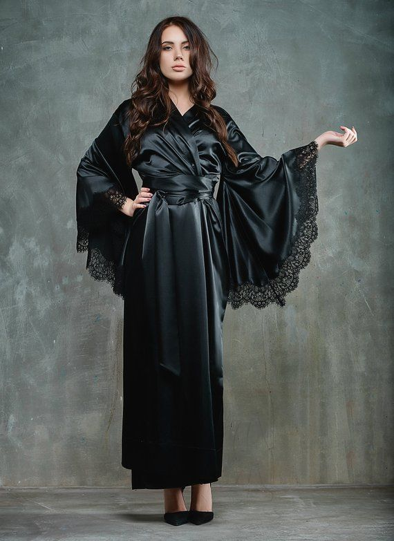 Silk Satin Robe 0b656ead0
