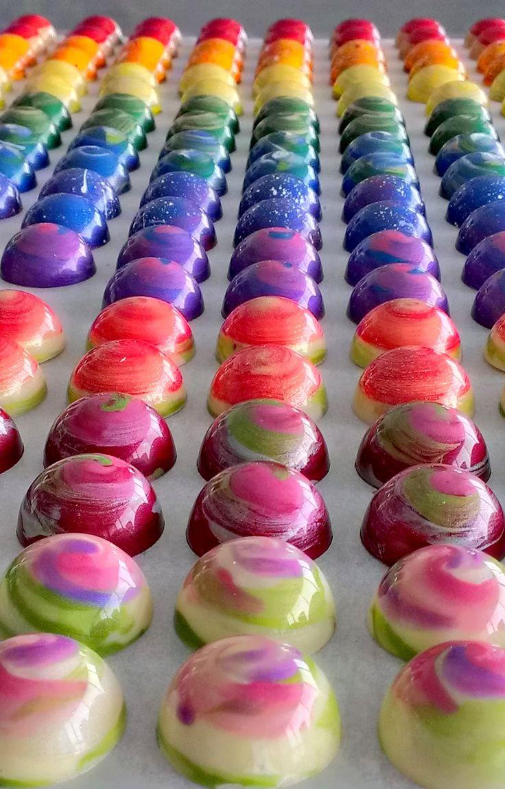 Sweet Chalet's Aurora chocolate bonbons