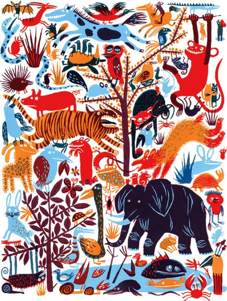 Screen Printing Dense Layers of Colourful Characters with Katherina Manolessou