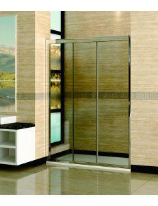 Душевая дверь раздвижная RGW CL-11 146-151см стекло прозрачное, профиль хром