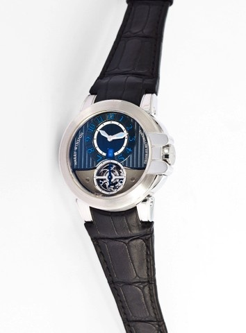 HARRY WINSTON REF. 400 MAT 44W OCEAN TOURBILLON WHITE GOLD