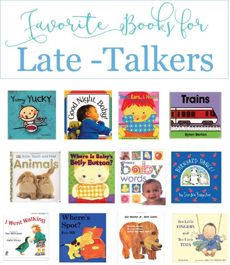 Favorite Books for Late-Talkers