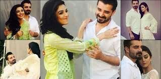 Hamza abbasi and maya ali ....cute couple I think