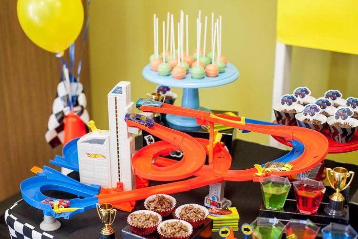 Little Wish Parties   Hot Wheels Birthday Party   https://littlewishparties.com