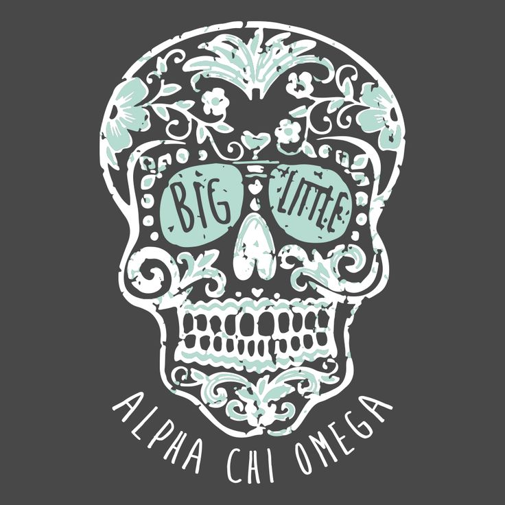 Alpha Chi Omega Big Little design by College Hill Custom Threads sorority and fraternity greek apparel and products //