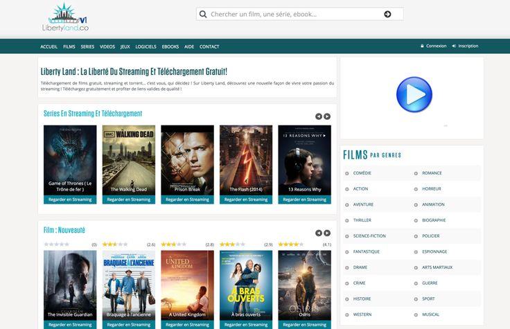 Découvrez notre liste des meilleurs sites de streaming français comme Libertyland, vous y trouverez un très grand choix de catégories de streaming en ligne.