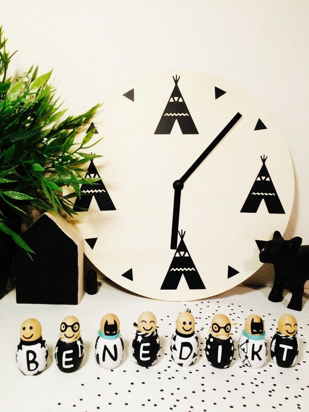 25 einzigartige holzuhr ideen auf pinterest holzuhren. Black Bedroom Furniture Sets. Home Design Ideas