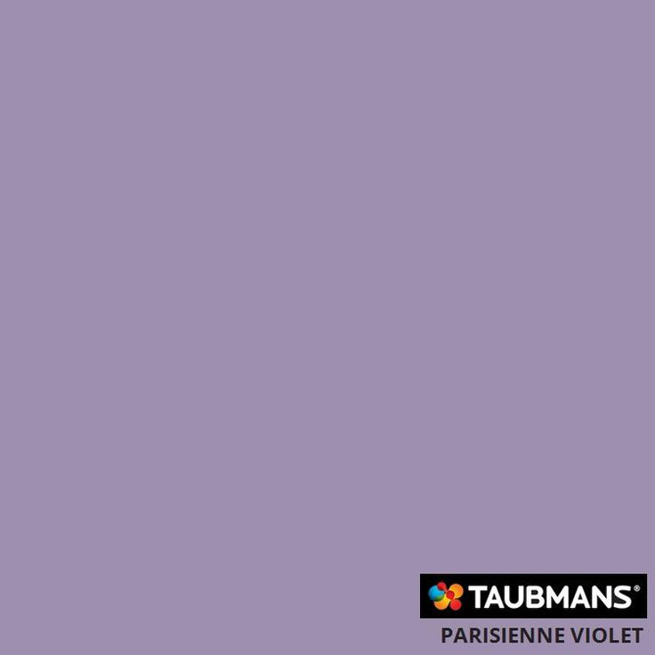 Taubmans colour: PARISIENNE VIOLET