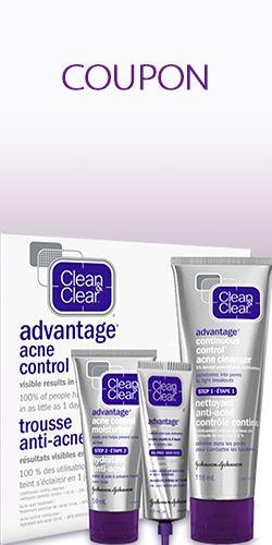 Rabais de 2$ pour Clean & Clear.  http://rienquedugratuit.ca/coupons/rabais-de-2-pour-clean-clear/