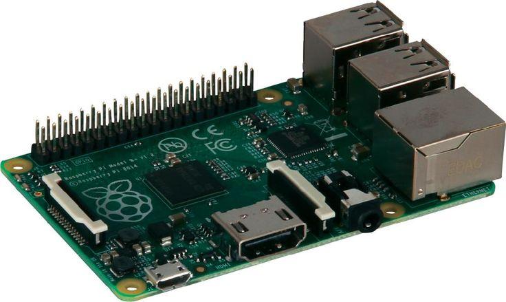 Raspberry Pi model B+ 512 MB zonder besturingssysteem