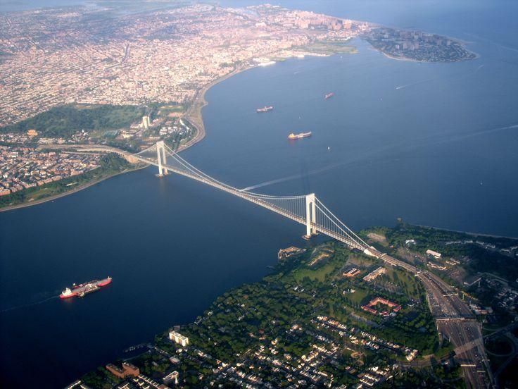 Verrazano-Narrows Bridge, Staten Island to Brooklyn, NYC