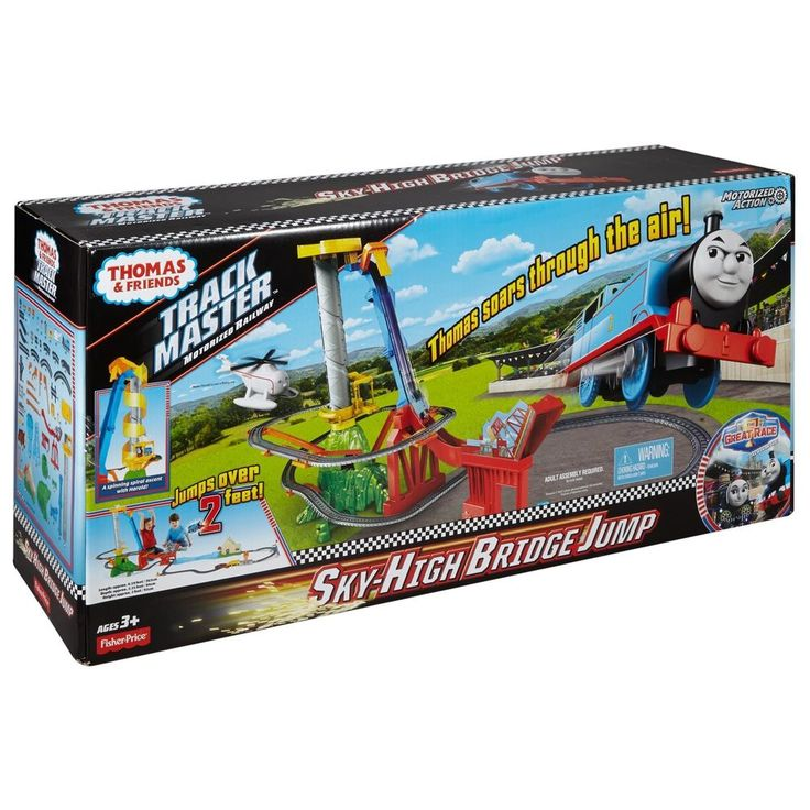Thomas and Friends TrackMaster Thomas' Sky-High Bridge Jump #ThomasFriends