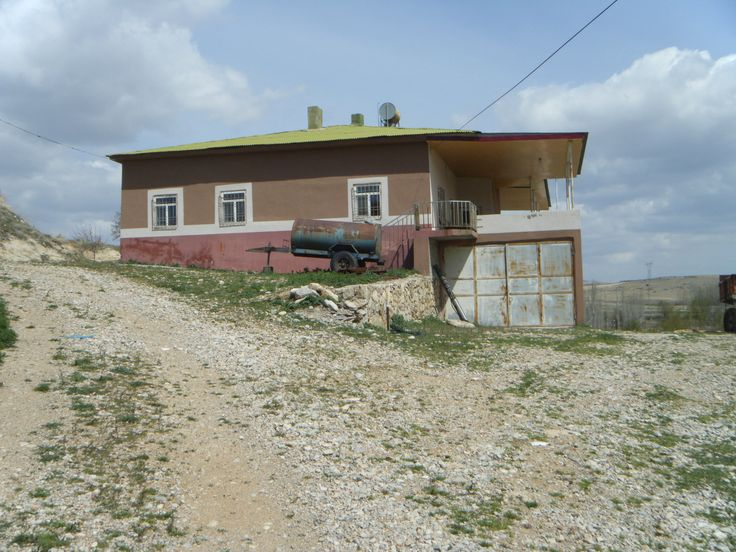 Hacasanlı köyü, Haydar Kale'nin evi 1950'li yıllarda yapıldı