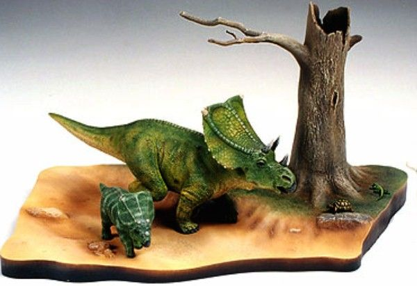 Tamiya Chasmosaurus Dinosaur 1:35 Scale Diorama Set - available from Hobbies, the UK's favourite online hobby store!