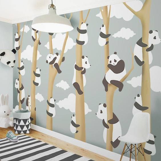 Little Hands Wallpaper Mural The Can Be Ordered In Various Sizes We Are Like Tailors Will Fit Perfectly On Your Wall