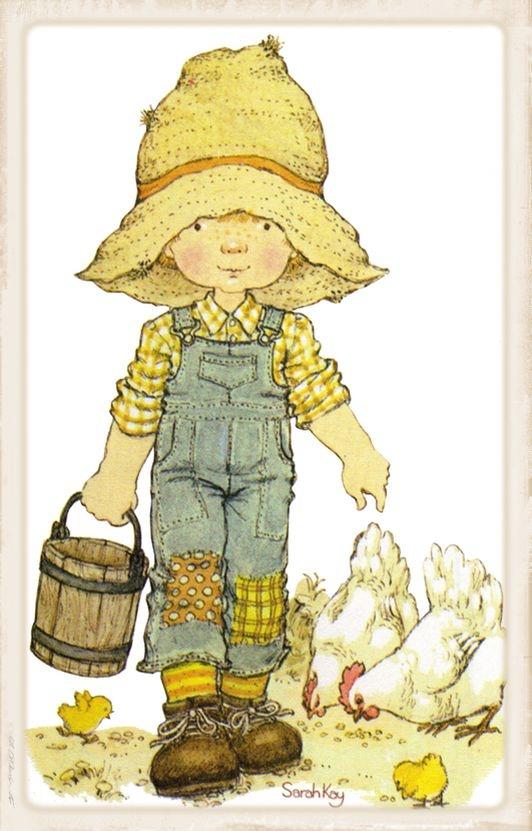 120- Lo primero que hago al llegar a la finca, es alimentar a las gallinas.