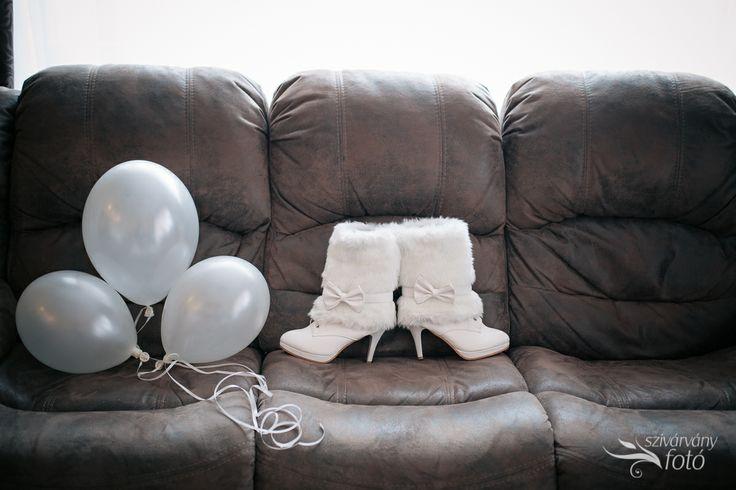 winter wedding boots :)