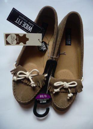 Kup mój przedmiot na #vintedpl http://www.vinted.pl/damskie-obuwie/polbuty/10002220-nowe-mokasynki-ze-skory-naruralnej-z-frendzlami-rozmiar-38