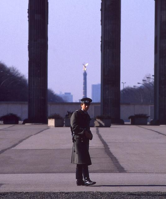 East German Border Guard...