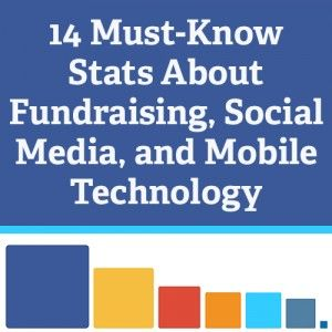 14 Must-Know Stats about Fundraising, Social Media, and Mobile Technology #nonprofits #socialmedia