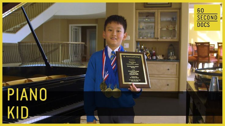 9-Year-Old Piano Prodigy | Ryan Wang // 60 Second Docs