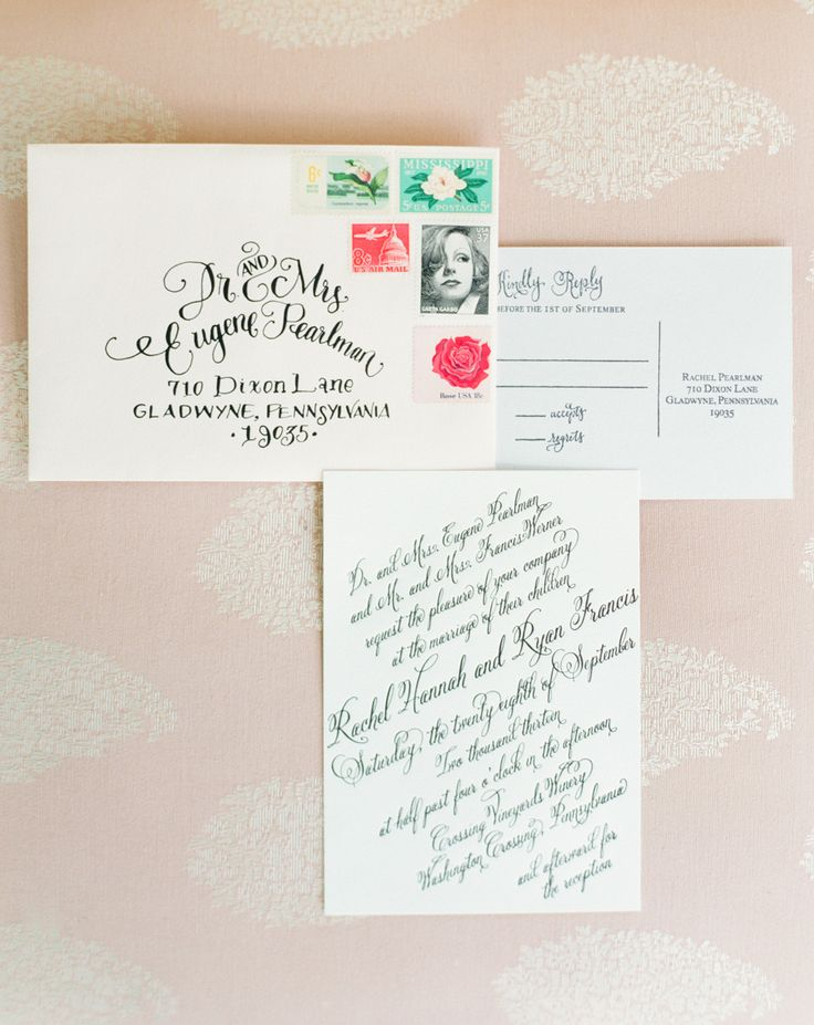 Crossing Vineyards Winery Wedding Wedding CalligraphyHindi CalligraphyInvitation